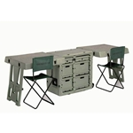 Pelican Hardigg Double Duty Field Desk Case 472-FLD-DESK-DD