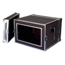 "Atlas ATA 1/4"" Plywood Shock Mount 12U Rack Space Case"