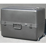 Parker Plastics Deluxe Tote Wheeled Case DX-2215-16-W Empty No Foam