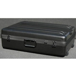 Parker Plastics Deluxe Tote Wheeled Case DX-2719-8-W Empty No Foam