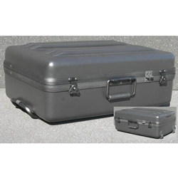 Parker Plastics Deluxe Tote Wheeled Case DX-2215-8-W