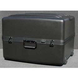 Parker Plastics Deluxe Tote Wheeled Case DX-2421-16-W